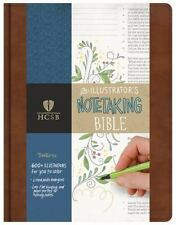 HCSB Illustrators Note Taking Bible, British Tan, Leather Touch (2016)