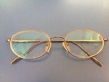 DONNA KAREN NEW YORK - GLASSES with box (metal/copper frames) DKNY