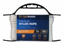 MIBRO GROUP (THE) 642161 Solid Braided Nylon Rope TG 1/8x100 Wht Nyl