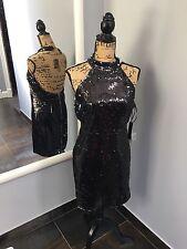 LULUS Sequin Cocktail Party Mini Dress Size L NWT