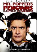 USED DVD  // MR POPPER'S PENGUINS - Jim Carrey, Carla Gugino, Angela Lansbury, O