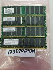 1GB 4X 256MB PC DDR DDR1 PC3200 DDR-400 3200 400MHZ 184PIN NON-ECC INTEL PC 32X8