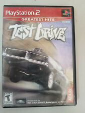 Test Drive 1 Original Release Playstation 2 PS2 Complete CIB GH ver