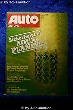 Auto Zeitung 21/76 Alfasud Sprint Matra Bagheera VW Golf Diesel