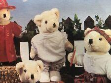 """Bear Wear Grey Sweatsuit by Westwater Enterprises for 12"""" bear or doll Nip!"""