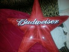 "Budweiser Classic American 34"" Blow Up Star"