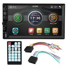 7in 2 Din Car Radio MP5 Player Touch Screen Bluetooth Mirror Link Remote Control