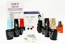 OPI Nail Gelcolor BREAKFAST at TIFFANY'S Gel Color Kit #2 - 6 colors /box
