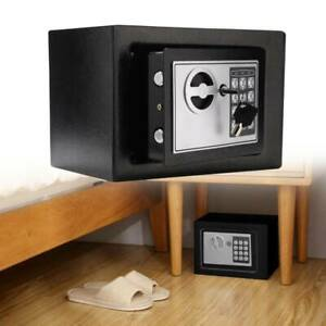 4.6L DIGITAL STEEL SAFE ELECTRONIC SECURITY OFFICE HOME CASH MONEY SAFETY BOX