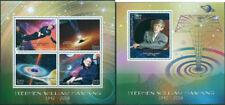 Stephen Hawking In Memoriam Physics Space Science Madagascar MNH stamp set