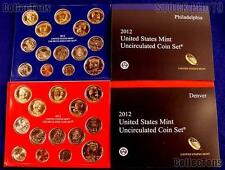 2012 Complete P&D United States Mint Set Sealed in Original Government Packaging