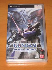 GUNDAM BATTLE TACTICS GIOCO UMD NUOVO PSP JAPAN