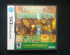 Professor Layton and the Unwound Future (Nintendo DS, 2010) - Complete