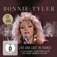 CD DVD Bonnie Tyler Live And Lost In France CD und DVD Set