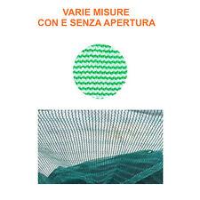 Telo rete raccolta olive Pugliese antispina con e senza spacco 90 gr/mq