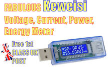 Keweisi KWS-V20 In-line USB Tester Voltage Current Power Energy Capacity Meter