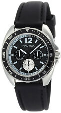 Nautica Men's Sport Ring Black Box Set Watch N09910G