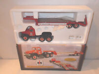 International Harvester Parts & Service 1957 Truck With Lowboy  By First Gear