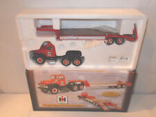 International Harvester Parts & Service 1957 Truck With Lowboy By First Gear  !