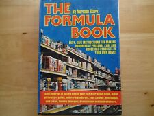 The Formula Book Norman Stark how to make personal care & household products