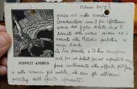 1915 LETTERA AUTOGRAFA AVIATORE AMICO DI D'ANNUNZIO SAVERIO LAREDO DE MENDOZA
