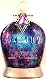 Designer Skin Stardom 60X Dark Bronzer Tanning Bed Lotion New 13.5 oz Bottle