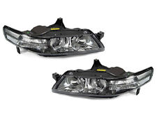 USA FAST SHIP 2004-2005 ACURA TL BLACK HOUSING CLEAR CORNER PROJECTOR HEADLIGHTS