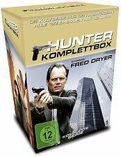 Hunter - Gnadenlose Jagd - Die Komplettbox - 42 DVDs - Cigarette BOX - NEU/Folie