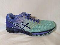 Asics T6G7N GEL-QUANTUM 180 2 Women's Size 10 Airy-Blue Mesh Running Shoes
