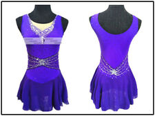 Purple Ice Figure Skating Dress Custom Girl Competition Skating Dress GirlsY209