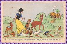 CPA - Carte Postale - WALT DISNEY - Edition Séphériadés  Blanche Neige  N°3