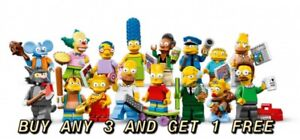 LEGO MINIFIGURES SIMPSONS SERIES 1 PICK YOUR OWN BUY ANY 3 GET 1 FREE N/UNOPENED