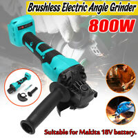 For Makita 18V Battery Electric Cordless Brushless Angle Grinder Tool 9000rpm