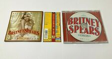"Britney Spears CD ""CIRCUS"" With Japan Limited Bonus Track OBI"