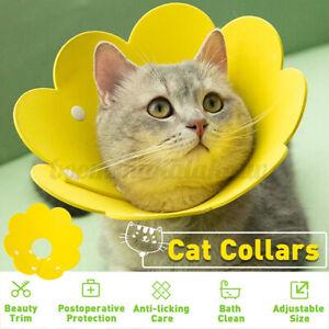 Multi Pet Dog Cat Elizabeth Protection Ring Neckline Bite Proof Collar Wound AU