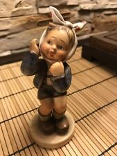 "Goebel Hummel #217 ""Boy With Toothache"" TMK 2 Full Bee Mark Mint Condition 5.5""H"