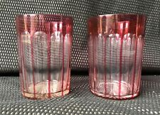 CUP IN CRYSTAL BACCARAT RED COLOR