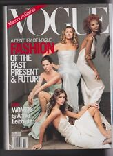 1X Vintage VOGUE Magazine - NOVEMBER 1999 - GISELE - KATE MOSS - SEYMOUR - IMAN