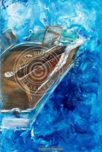 Riva Boot, Ariston Leinwand Foto Geschenk
