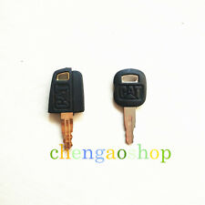 2pcs Heavy Equipment Ignition Keys for Caterpillar CAT #Q152 ZX