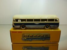 DINKY TOYS ATLAS 29F AUTOCAR CHAUSSON - BUS - BLUE + CREAM - EXCELLENT IN BOX