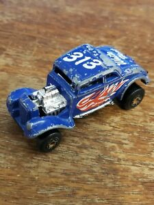 MATCHBOX SUPERFAST ~ 33 WILLY STREET ROD 1982 Iconic Blue Car