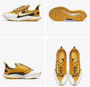 Nike x Gyakusou Zoom Pegasus 36 Trail Running Shoes Yellow Men's 5.5 Women's 7