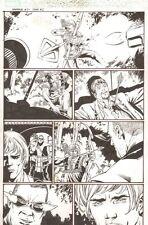 Hawkeye #5 p.2 - Hawkeye Kill - 2004 art by Stefano Raffaele