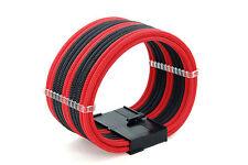 24 Pin Cable de extensión de extensión curvada Mano Manga Con Cable De 2 Peines Shakmods