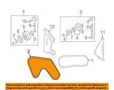 NISSAN OEM-Serpentine Drive Fan Belt 117204P102