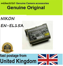 UK Original Nikon EN-EL15a Battery for Nikon D7500 D7100 D7200 D7000 D850 D750