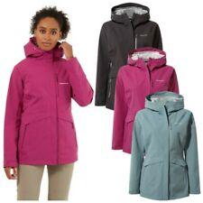 New listing 2021 Craghoppers Ladies Caldbeck Waterproof Full Zip Lightweight Hooded Jacket