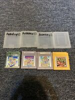 Lot Nintendo Game Boy Color Games: Donkey Kong Super Mario Bros Lot Of 4
