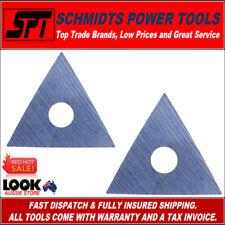 2x BAHCO 449 SCRAPER BLADE SUITS 625 / 448 PAINT SCRAPER 25mm TRIANGLE CARBIDE